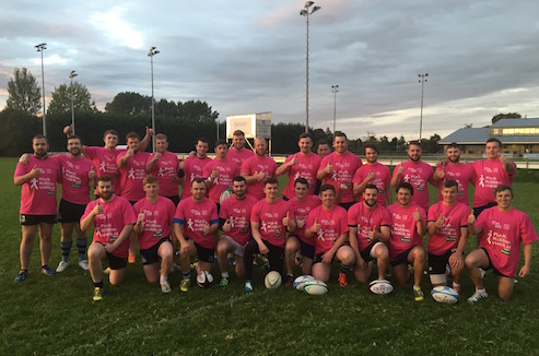 Navan 1st XV Support Local Charity