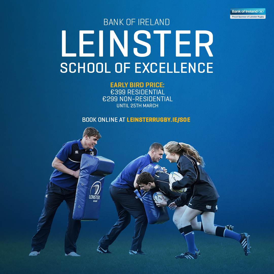 Leinster School Of Excellence Summer 2017!