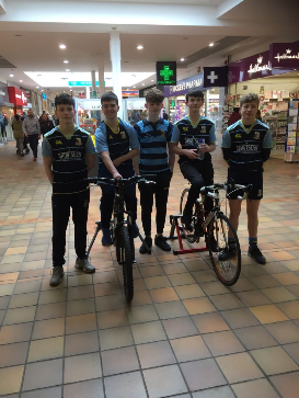 Navan U 15s Cycle To Manchester