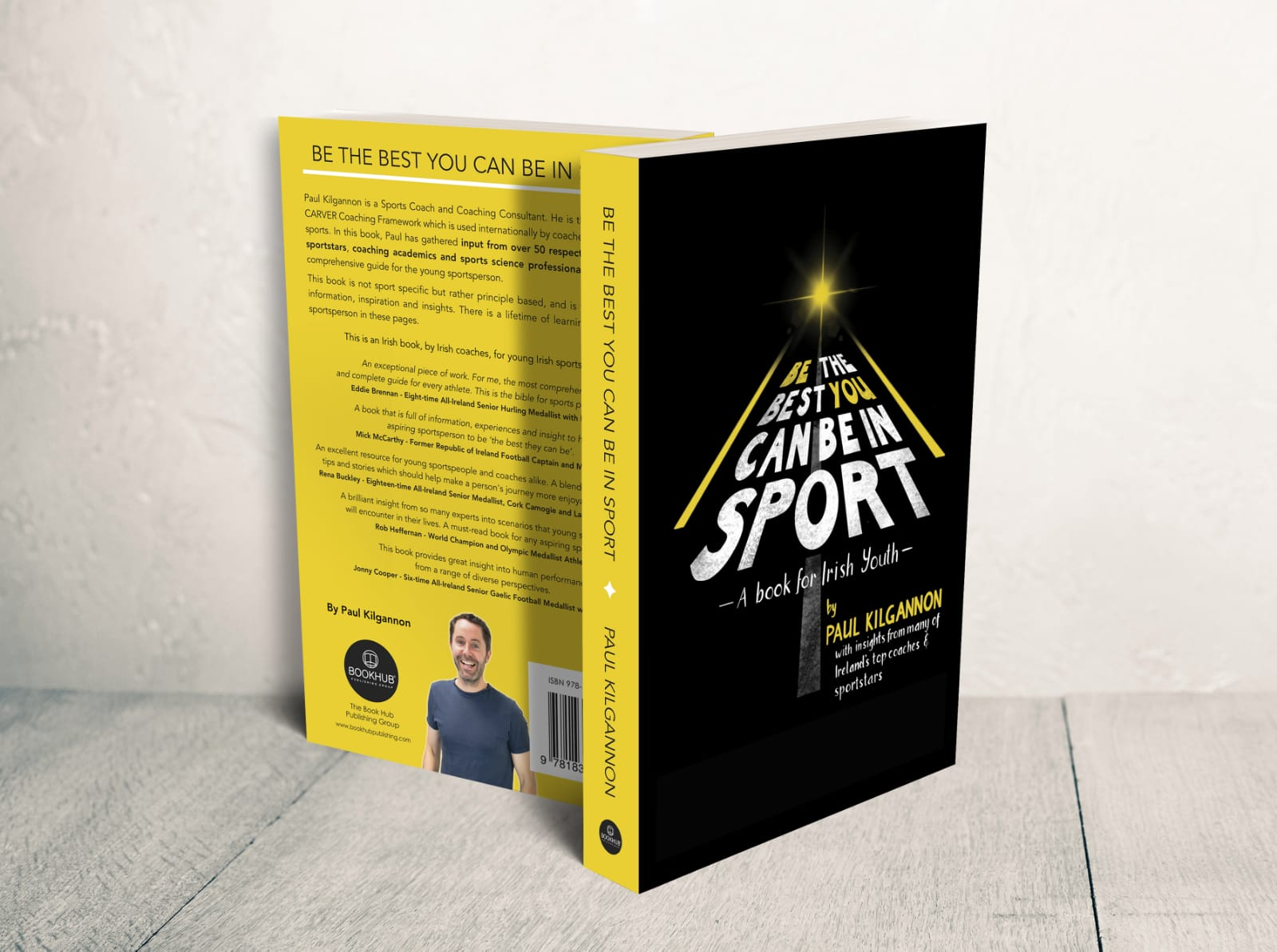 """Paul Kilgannon's New Book """"Be The Best You Can Be In Sport"""""""